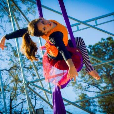 Sirkuspaja ja Sirkussunnuntait osana Lasten luovaa toimintaa Pyhällä